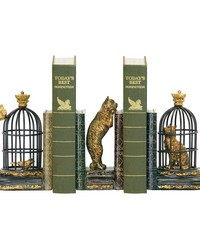 Pair of Trading Places Bookends by