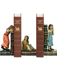 Pair of Child Games Bookends by