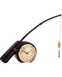 Rod N Reed Fishing Display Clock by