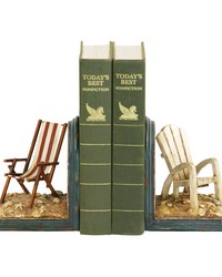 Pair Of Beach Chair Bookends by