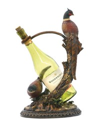 Autumn Pheasant Wine Holder by