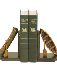 Pair of Camp Woebegone Bookends by
