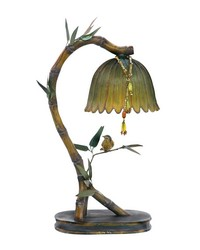 Perching Finch Lamp by