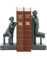 Pair Peek A Boo Bookends by