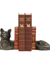 Pair Cat Napping Bookends by