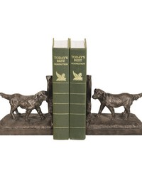 Pair of Retriever Bookends by