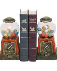 Pair Candy Treasure Bookends by