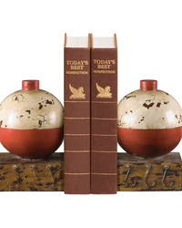 Pair Of Fishing Bobber Bookends by