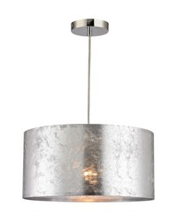 Boulevard 1 Light Pendant In Silver by