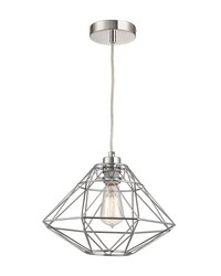 Paradigm 1 Light Pendant In Chrome by