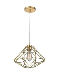 Paradigm 1 Light Pendant In Gold by