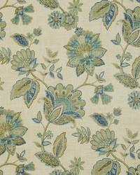 Jacobean Fabrics  Amelie 523 Caribbean