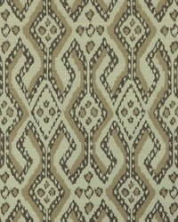 Beige Navajo Print Fabric  Arusha 196 Linen
