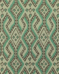 Blue Navajo Print Fabric  Arusha 219 Turquoise