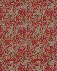 Multi Classic Paisley Fabric  Ballard 11 Multi