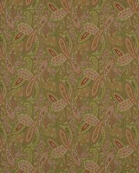Classic Paisley Fabric  Ballard 187 Nectar