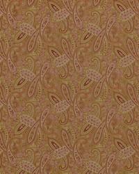 Gold Classic Paisley Fabric  Ballard 881 Vintage Gold