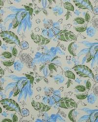 Modern Floral Fabrics  Chiara 526 Robins Egg