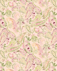 Green Classic Paisley Fabric  Daphne 282 Lime