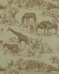 Jungle Safari Fabric  Jungle Love 821 Sisal