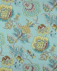 Grey Jacobean Floral Fabric  Lourdes 545 Mineral