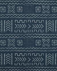 Blue Novelty Western Fabric  Mazinda 55 Navy