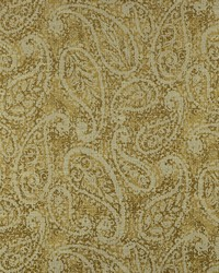 Gold Classic Paisley Fabric  Nesling 881 Vintage Gold