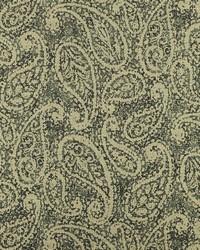 Black Classic Paisley Fabric  Nesling 936 Blacktan