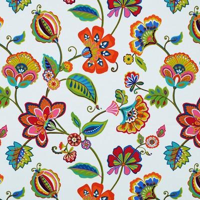 Covington Fabrics NICOLA 11 MULTI Jacobean Floral Fabric