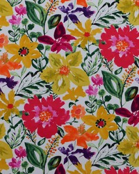 Pink Modern Floral Designs Fabric  Okeefe 713 Roseus