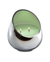 Candle - Bamboo Lotus Chrome Glass  by