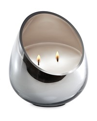 Candle - Spring Blossom Chrome Glass  by
