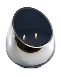 Candle - Cassis Noir Chrome Glass  by