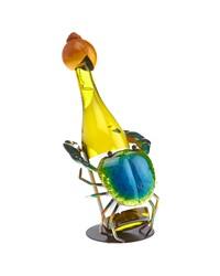 Wine Bottle Holder - Blue Crab by