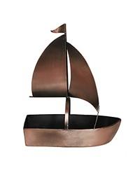 Wine Bottle Holder - Boat Antique Copper by