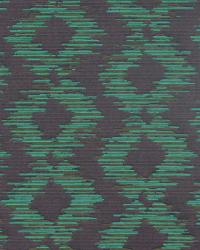 Abstract Ikat Emerald by