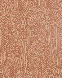 Solid Color Denim Fabric  Satin Paisley Marmalade