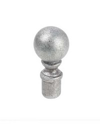 Ball Finial Silver by  Stout Hardware