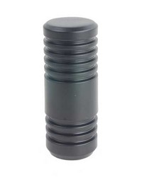 Cylinder Finial Black by
