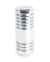 Cylinder Finial Chrome by