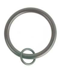 Rings with Loop Espresso 10 Pack by