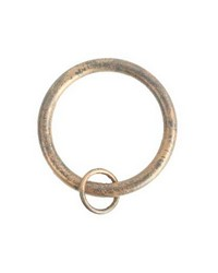 Rings with Loop Bronze 10 Pack by