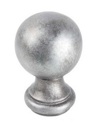 Ball Finial Silver by