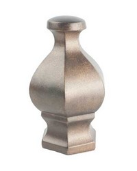 Hex Finial Bronze by