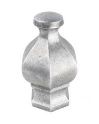 Hex Finial Silver by