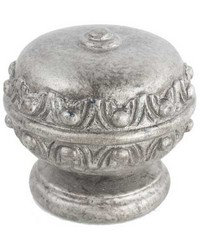 Egg Finial Silver by