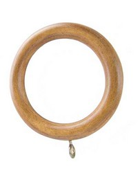 Standard Curtain Rings Acorn 7 Pack by
