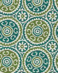 Blue Suzani Fabric  Elegant Suzani Mediterranean