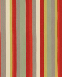 Red Solid Color Denim Fabric  Eos Stripe Lacquer Red