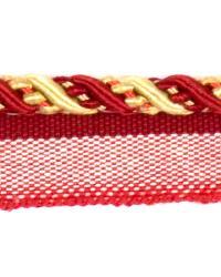 Red Fabricut Trim Fabricut Trim Cruise Cherry Vanilla